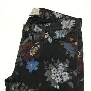 Current/Elliott Stiletto Wildflower Jeans 27 :301